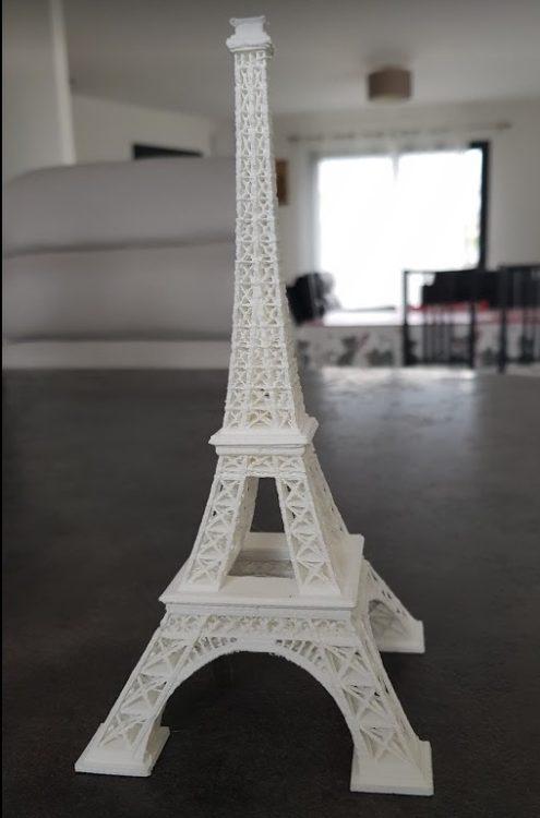 Tour Eiffel 3D dimitri.tech