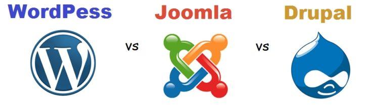 WP Joomla Drupal